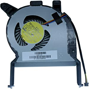 Laptop CPU Cool Fan Compatible for HP EliteDesk 800 G2 800G2 4-Pins Series 810571-001 DFB593512MN0T