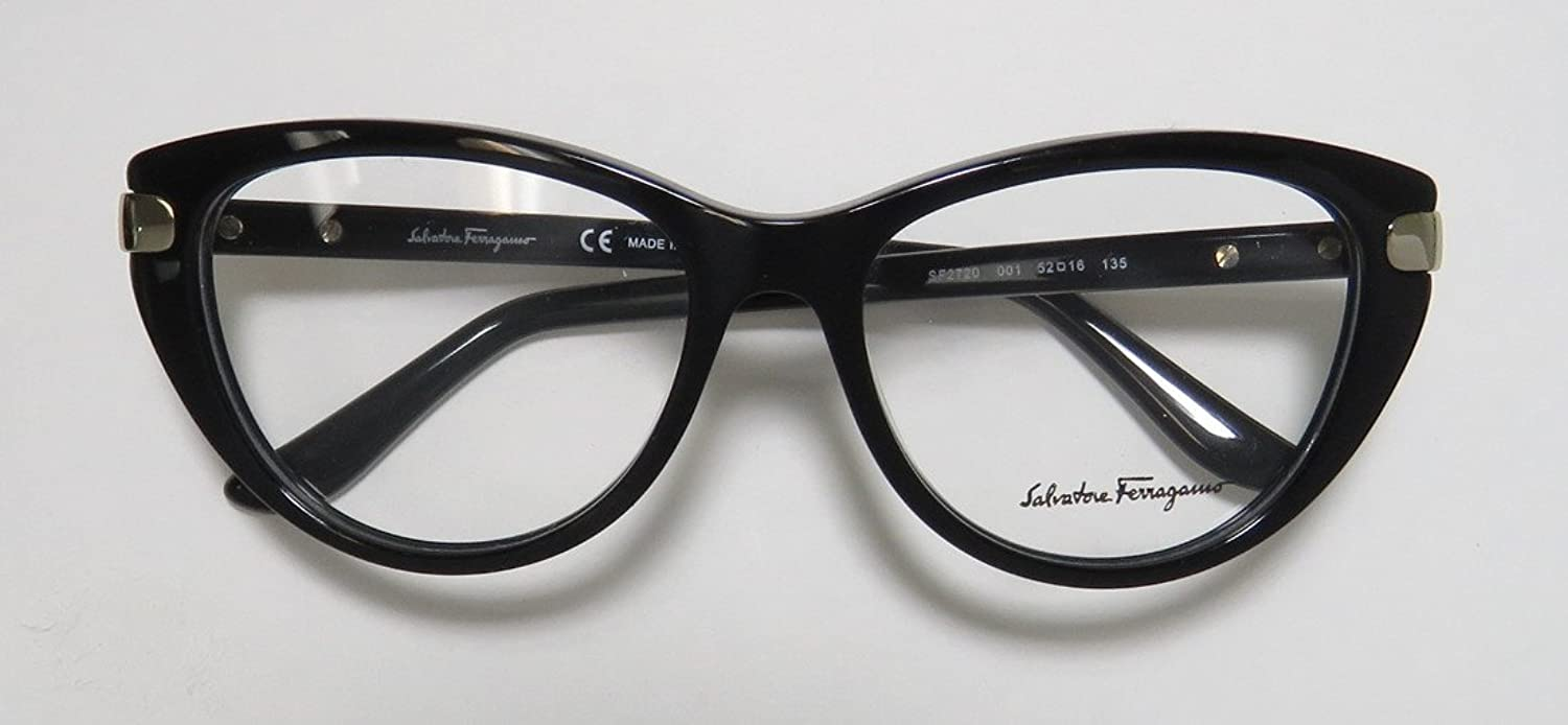Amazon.com: Salvatore Ferragamo SF 2720 001 52mm Eyeglasses: Clothing