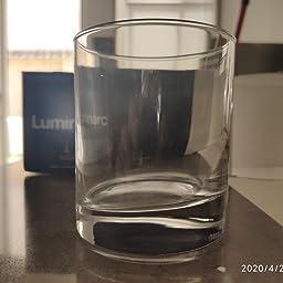 Luminarc 8808266 Islande - Juego de 3 vasos altos, transparente, 33 cl: Amazon.es: Hogar
