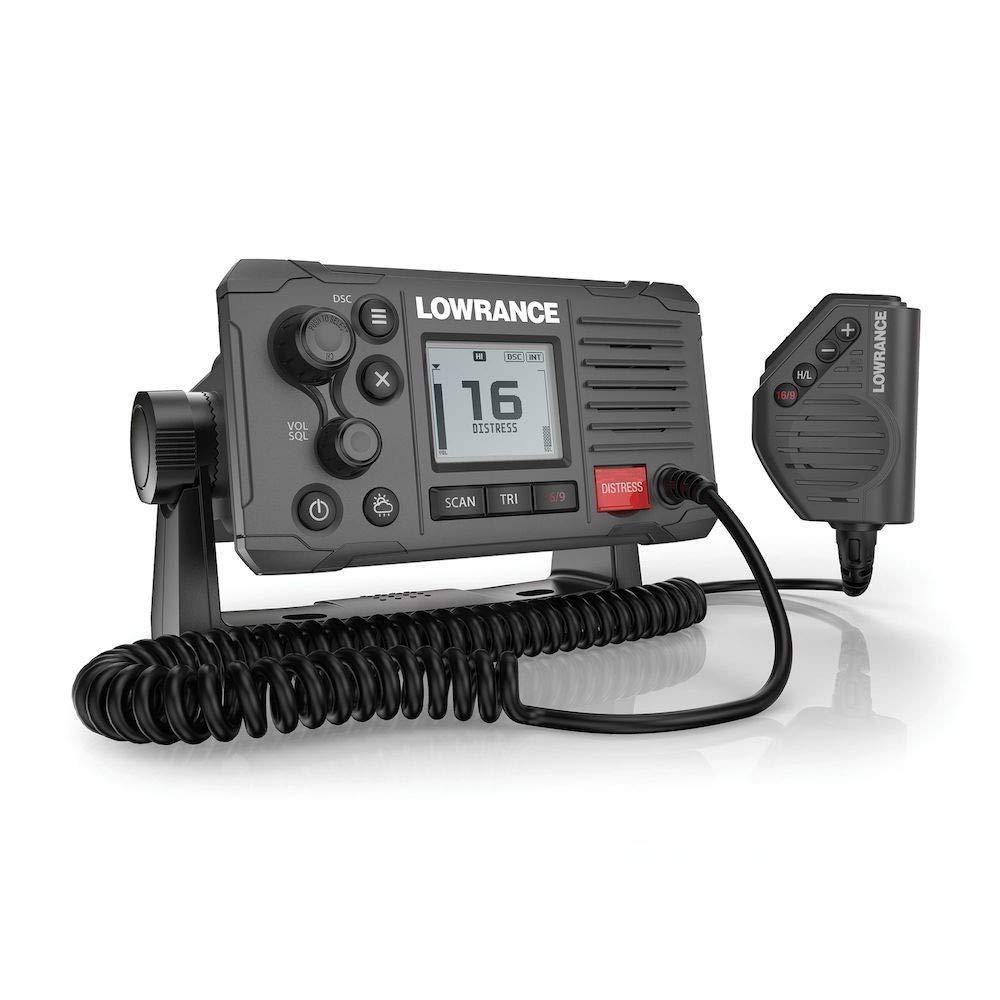 Lowrance Link-6S Class D DSC Marine VHF Radio - Gray - NMEA 0183/2000