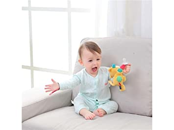 Amazon.com: Soother Clip Baby Teething Pacifier Clip Baby ...