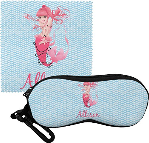 Mermaid Eyeglass Case & Cloth (Personalized)