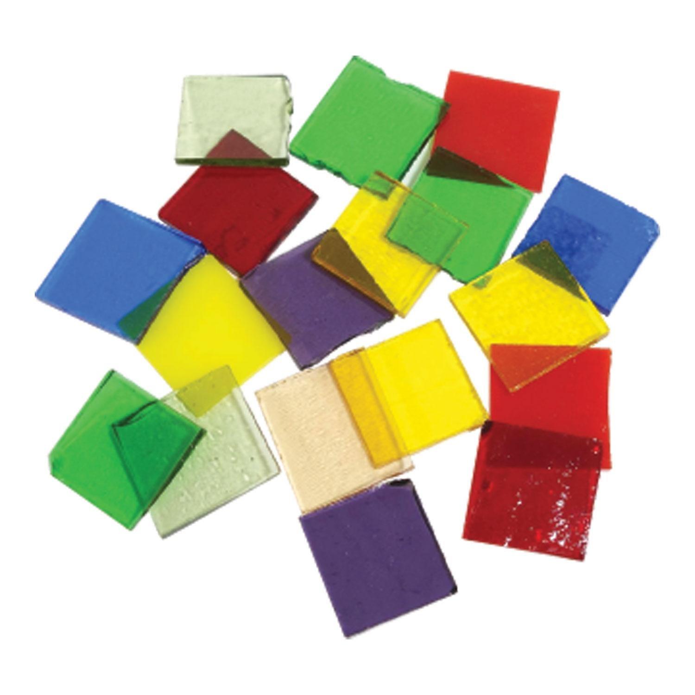 Fuseworks Variety Colors Squares 18 Piece Assortment - 90 COE Diamond Tech Intl