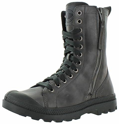 Palladium Women s Pampa Hi Rise Leather Zip Boot a60f928c2