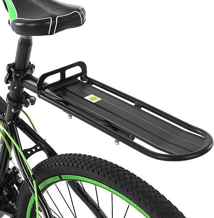 Lixada Portaequipajes Trasero Bicicleta Retráctil Aleación de ...