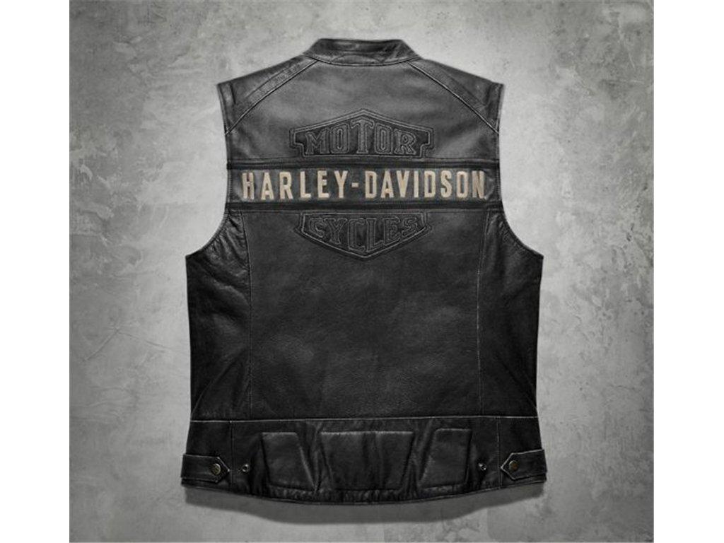 GILET HARLEY DAVIDSON IN PELLE ORIGINALE!!!