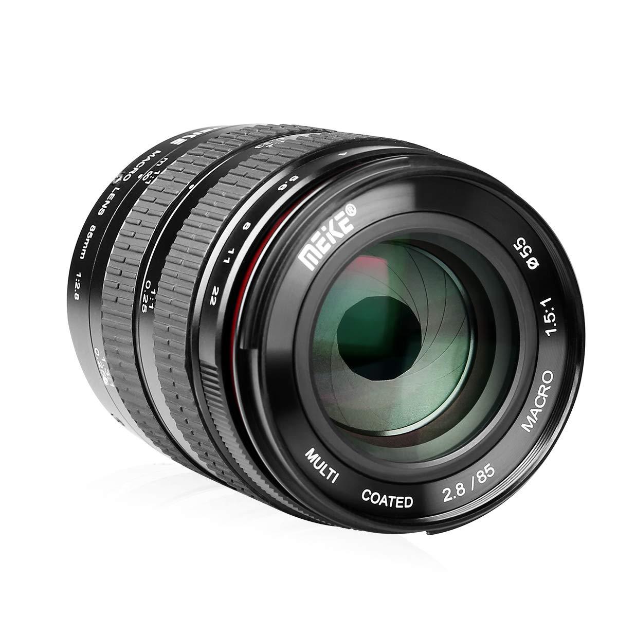 Meike - Objetivo Macro para cámaras réflex Digitales Sony E-Mount ...