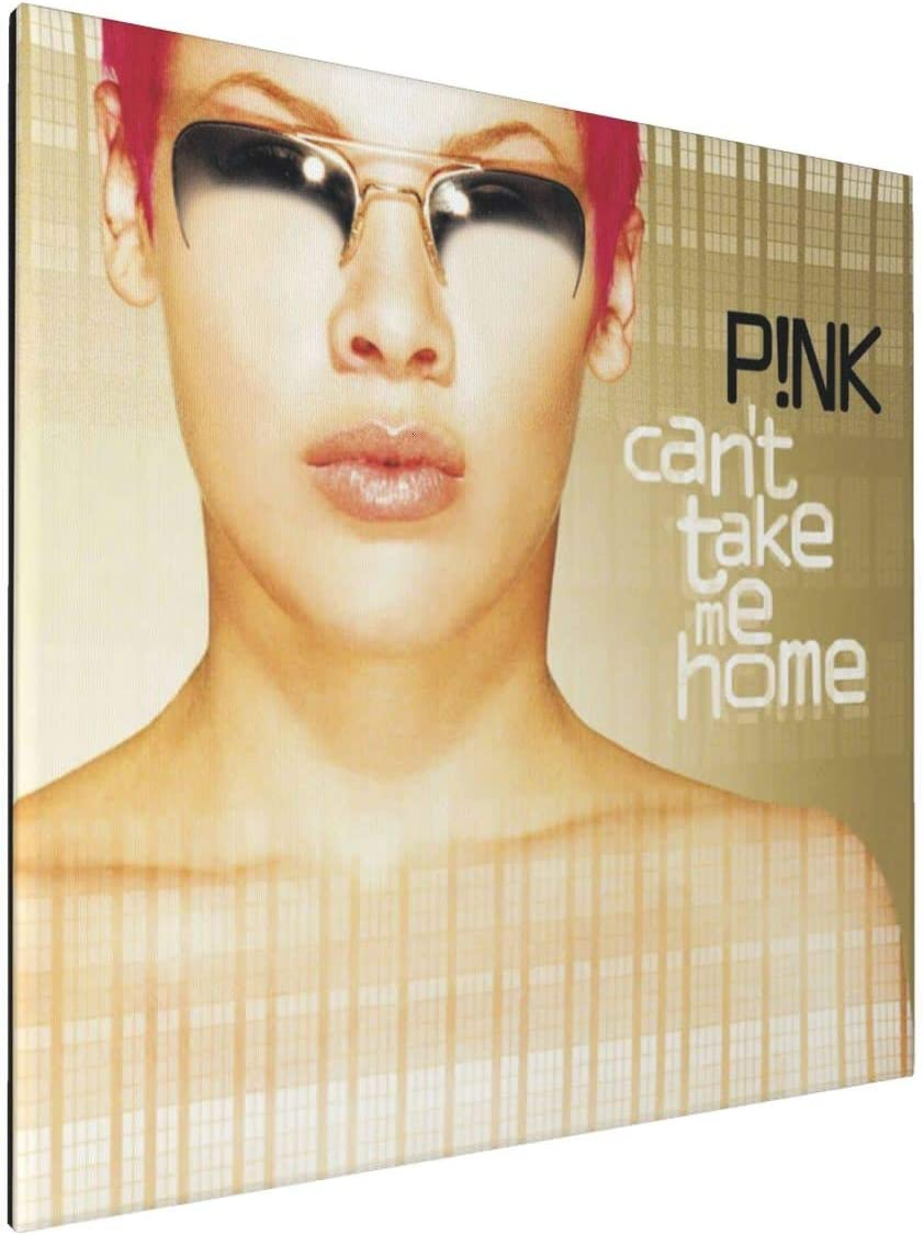 Kaihngl Pop Music Style Pink Can't Take Me Home Anime Sports Wall Painting Poster Cartoon Character Art Canvas Oil Painting Mural Home Decoration Tapestry Poster 5050cm