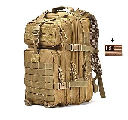 Mochila Táctica Militar, Paquete De Asalto Grande De 3 Días, Mochila De Sistema Al