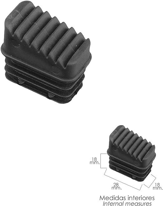 ORYX 23010050 Contera Escaleras Aluminio Trasera, de 3 a 8 ...