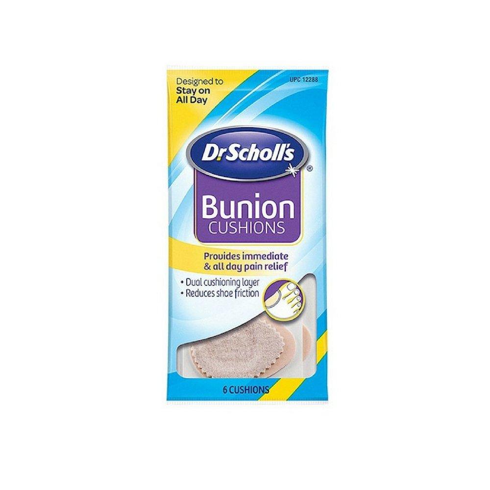 Dr. Scholl's Bunion Cushions Felt 6 Each (Pack of 18)