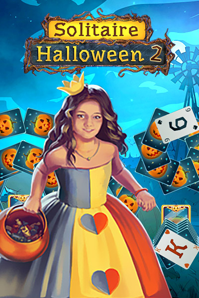 Solitaire Halloween 2 [Download] (100 Floors Halloween 3)