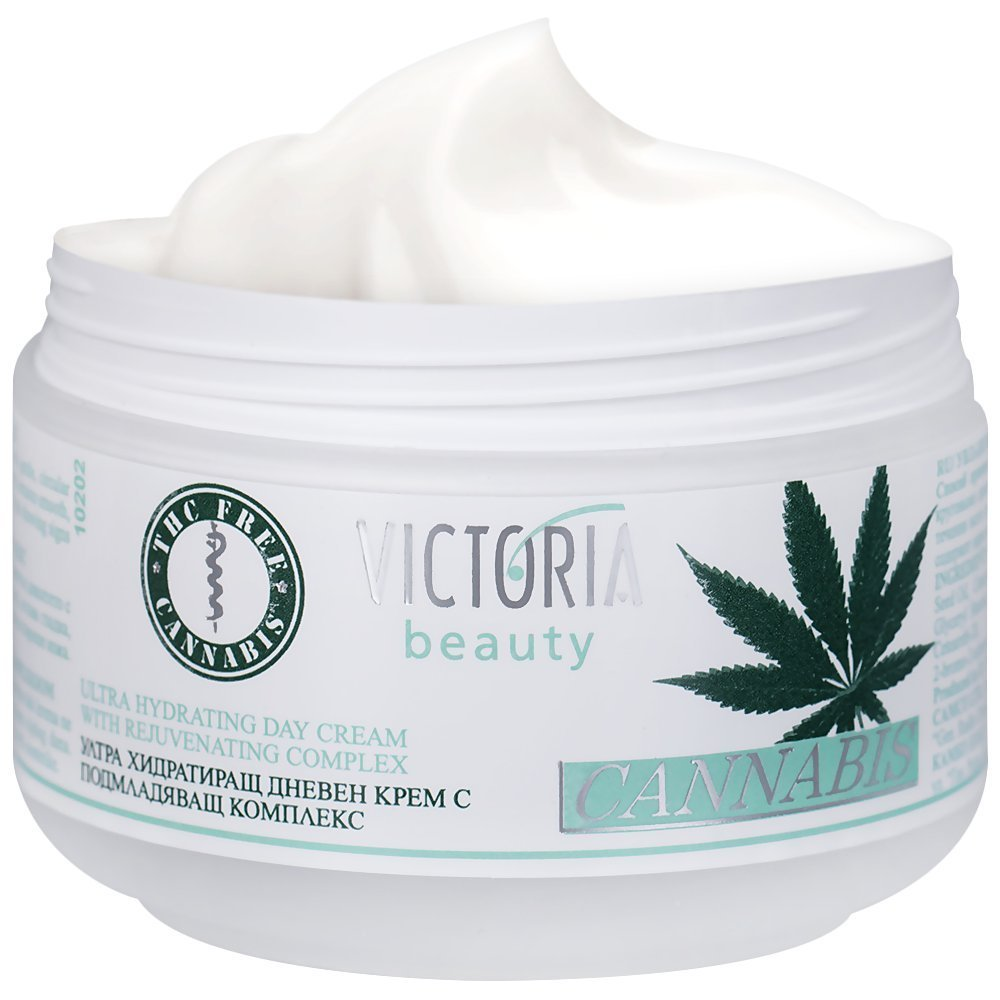 Cannabis Extract Day Face Cream - Natural Intensive Cream with Hemp Oil - Great hydration during the Day CAMCO LTD