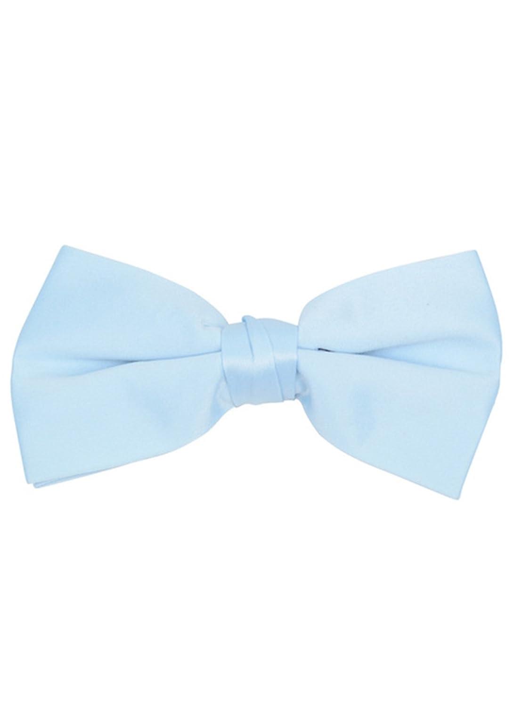 Formal Tuxedo Solid Color Mens Pre-tied Clip On Bow Tie