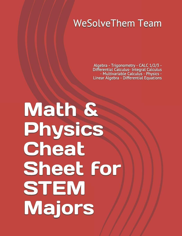 ... Integral Calculus - Multivariable Calculus - Physics - Linear Algebra -  Differential Equations: Amazon.de: WeSolveThem Team: Fremdsprachige Bücher