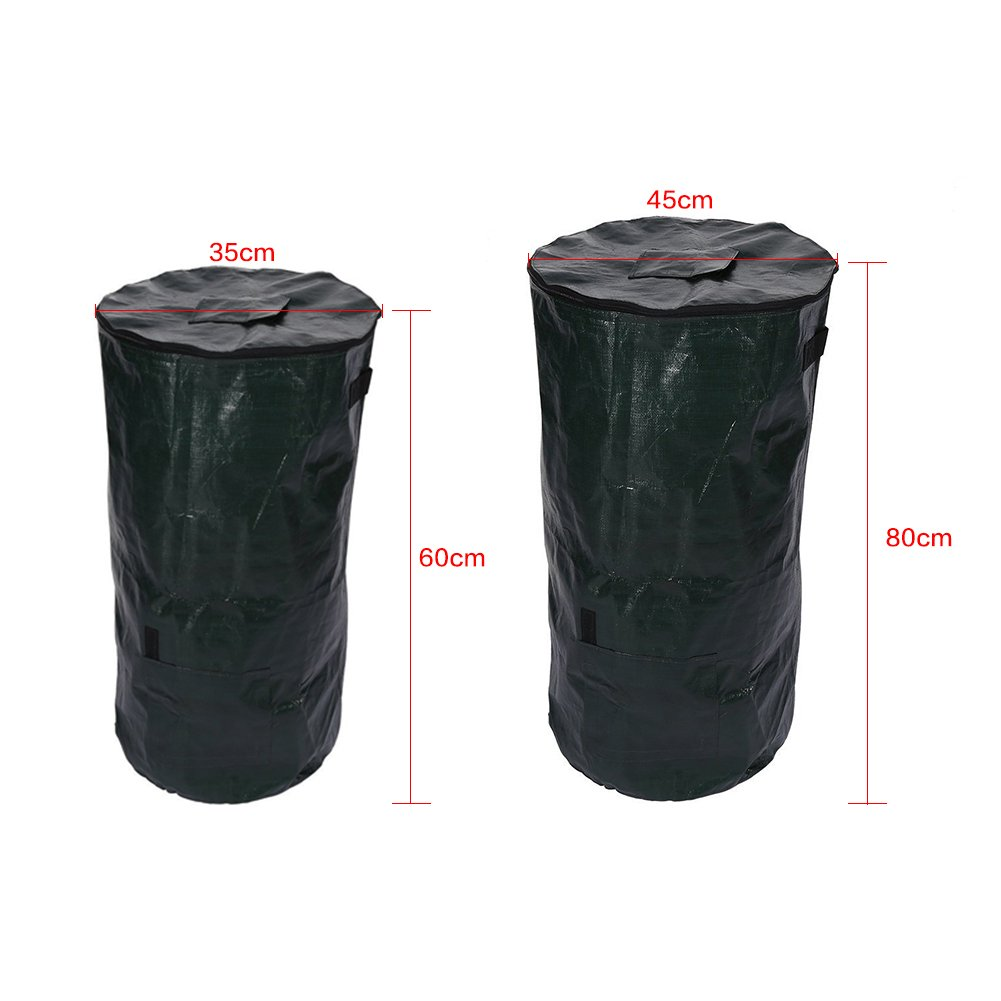 Amazon.com: Compost bin Patio bolsa de residuos compostaje ...