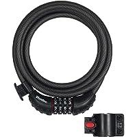 Master Lock Combination Bike Cable Lock, 1.8 m Length x 10 mm Diameter