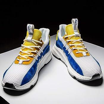 beautyjourney Zapatillas de Plataforma para Hombre Calzado ...
