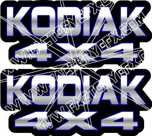 Yamaha Kodiak Gas Tank Graphics Blue 400 450 4x4