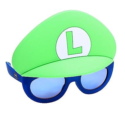 e244ad4de3b Amazon.com  Costume Sunglasses Lil  Characters Luigi No Moustache ...