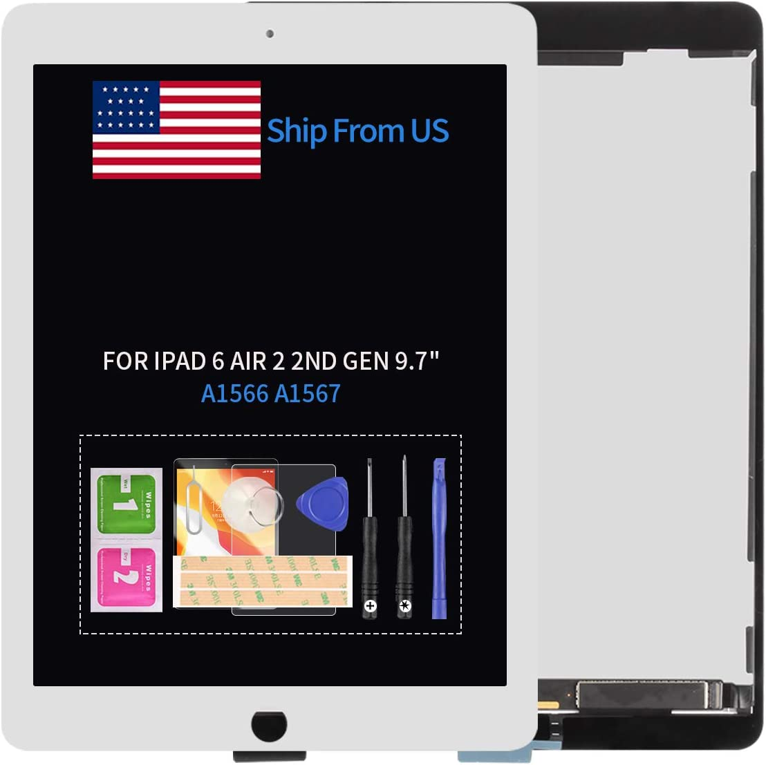 Screen Replacement for iPad Air 2 9.7
