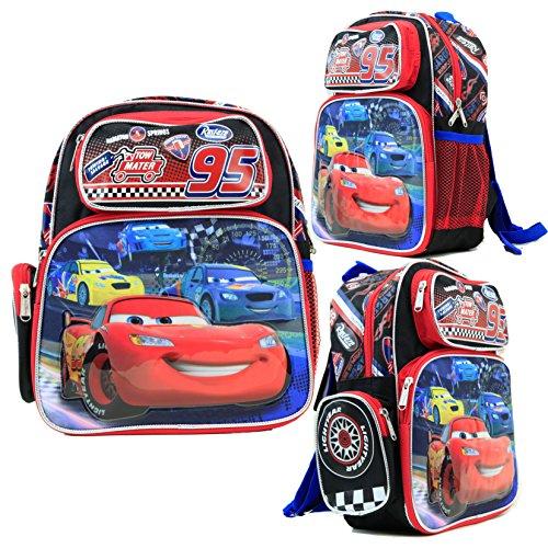 New School Book Bag - Disney Nitroade Cartoon Car Kids 12