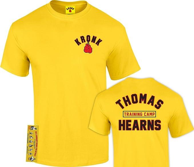 Kronk Thomas Hearns de boxeo formación campamento T Shirt hRtbfPGiO