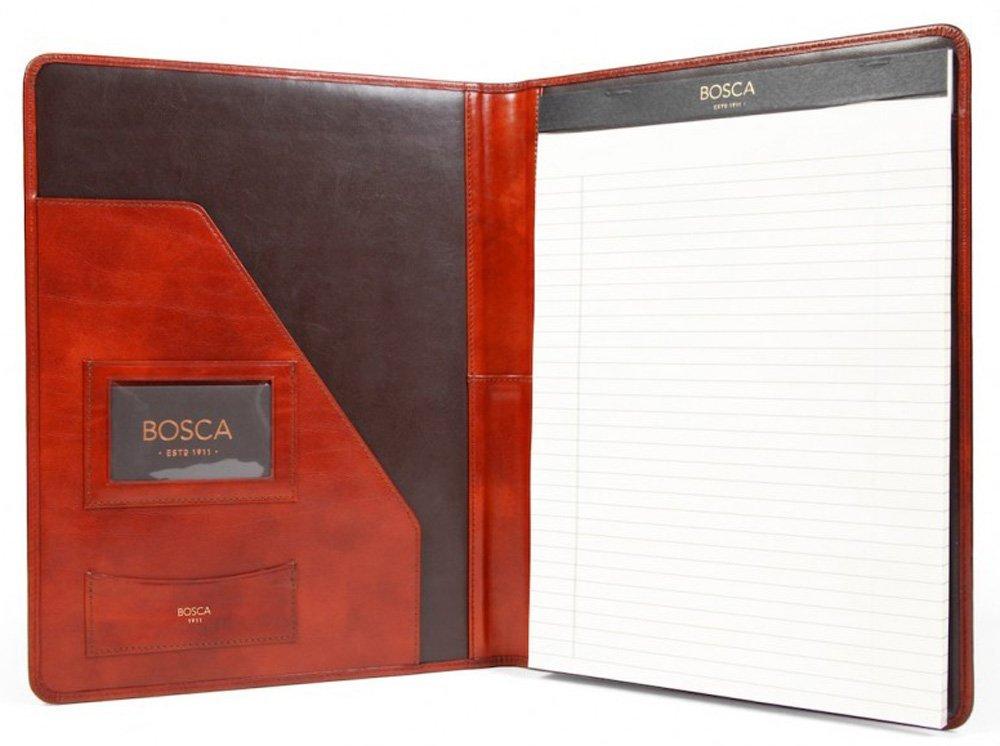 Bosca Old Leather Padfolio Portfolio - Cognac 922-32