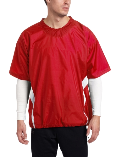 - Easton Short Sleeve Enforcer Jacket, Red, Large