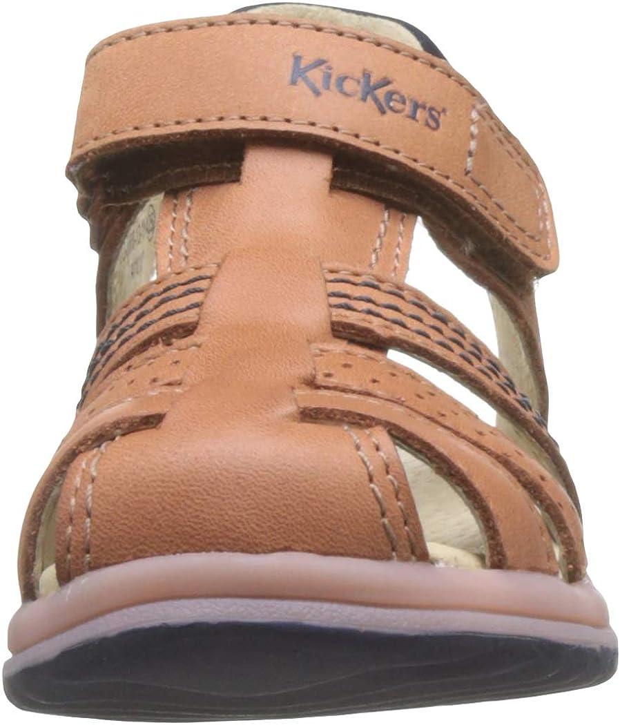 Kickers Platinium Sandales b/éb/é gar/çon