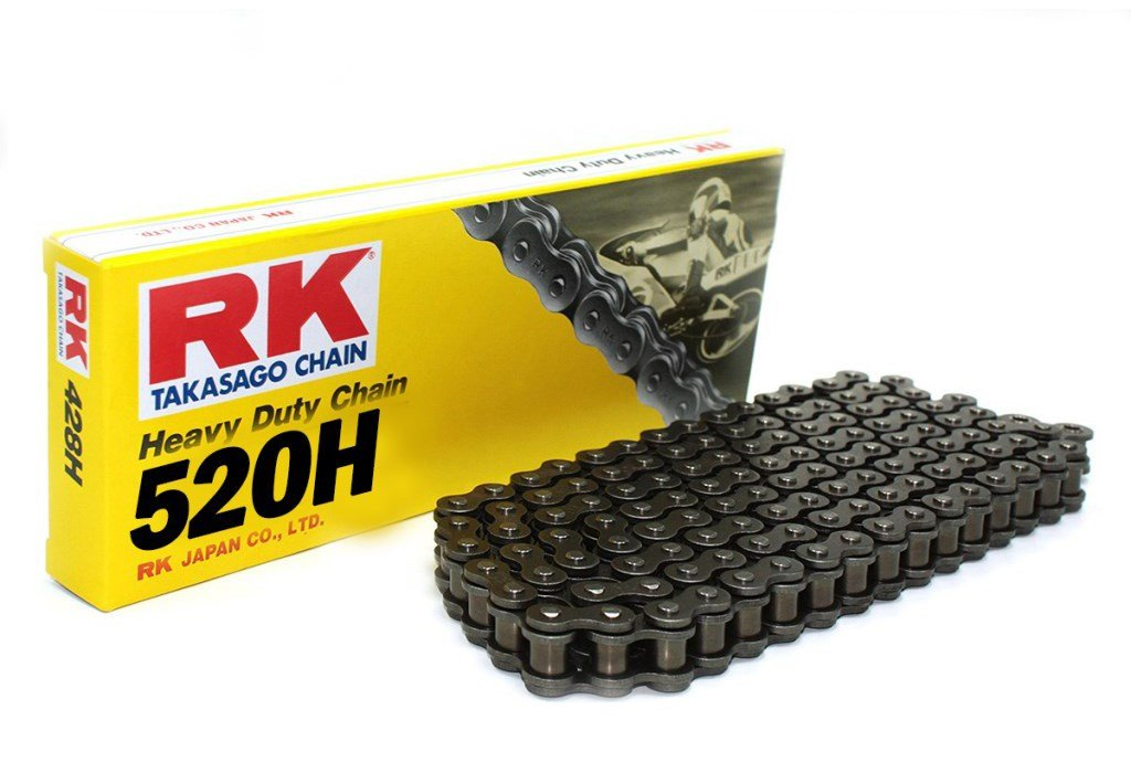 Chaine transmission noir RK 520H