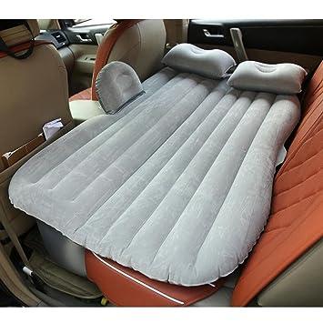 Colchón inflable para asiento trasero, para camping, coche, cama de aire, sofá de viaje al aire libre, gris: Amazon.es: Bricolaje y herramientas