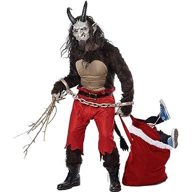 Amazon.com California Costumes Menu0027s Kr&us The Christmas Demon Clothing  sc 1 st  Amazon.com & Amazon.com: California Costumes Menu0027s Krampus The Christmas Demon ...