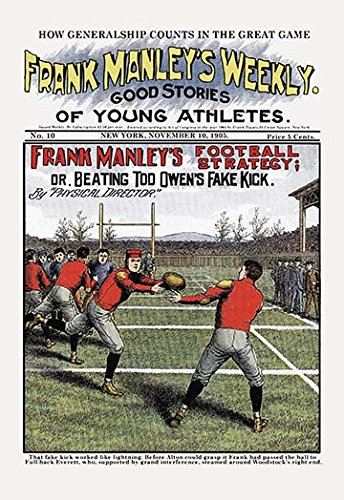 Buyenlarge Frank Manley's Football Strategy - 16