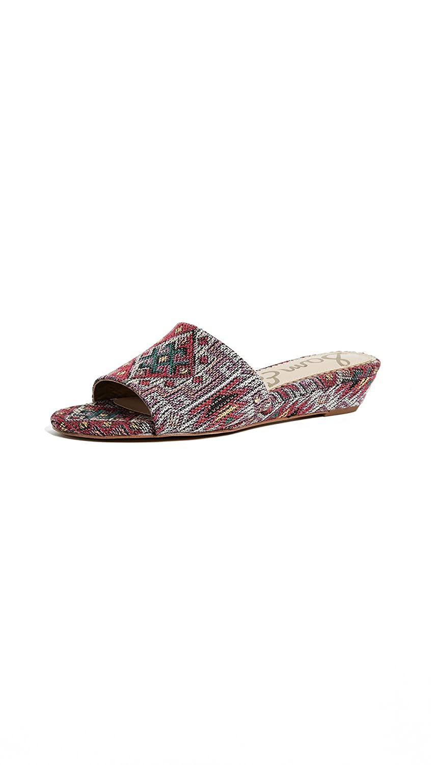 Sam Edelman Women's Liliana Slide Sandal B076TMZFGT 8 B(M) US|Red Multi