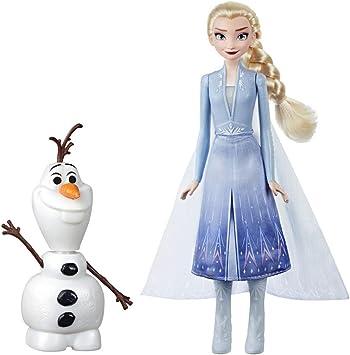 Amazon.es: Frozen 2 - Muñecos Elsa Y Olaf (Hasbro E5508EW0 ...