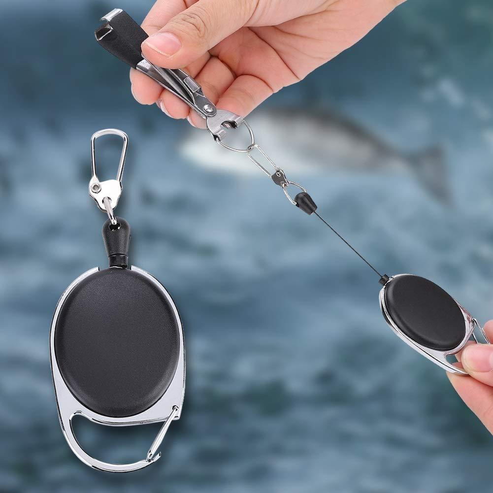 Multifunktionales Fliegenfischen Quick Knot Tool Schnurschneider Clipper Nipper Tackle DEWIN Angeln Quick Knot Bindewerkzeug