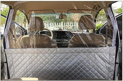 Amazon.es: Película de aislamiento de coche, impermeable y a prueba de polvo fácil instalación Cubierta protectora Partición Cortina para taxi