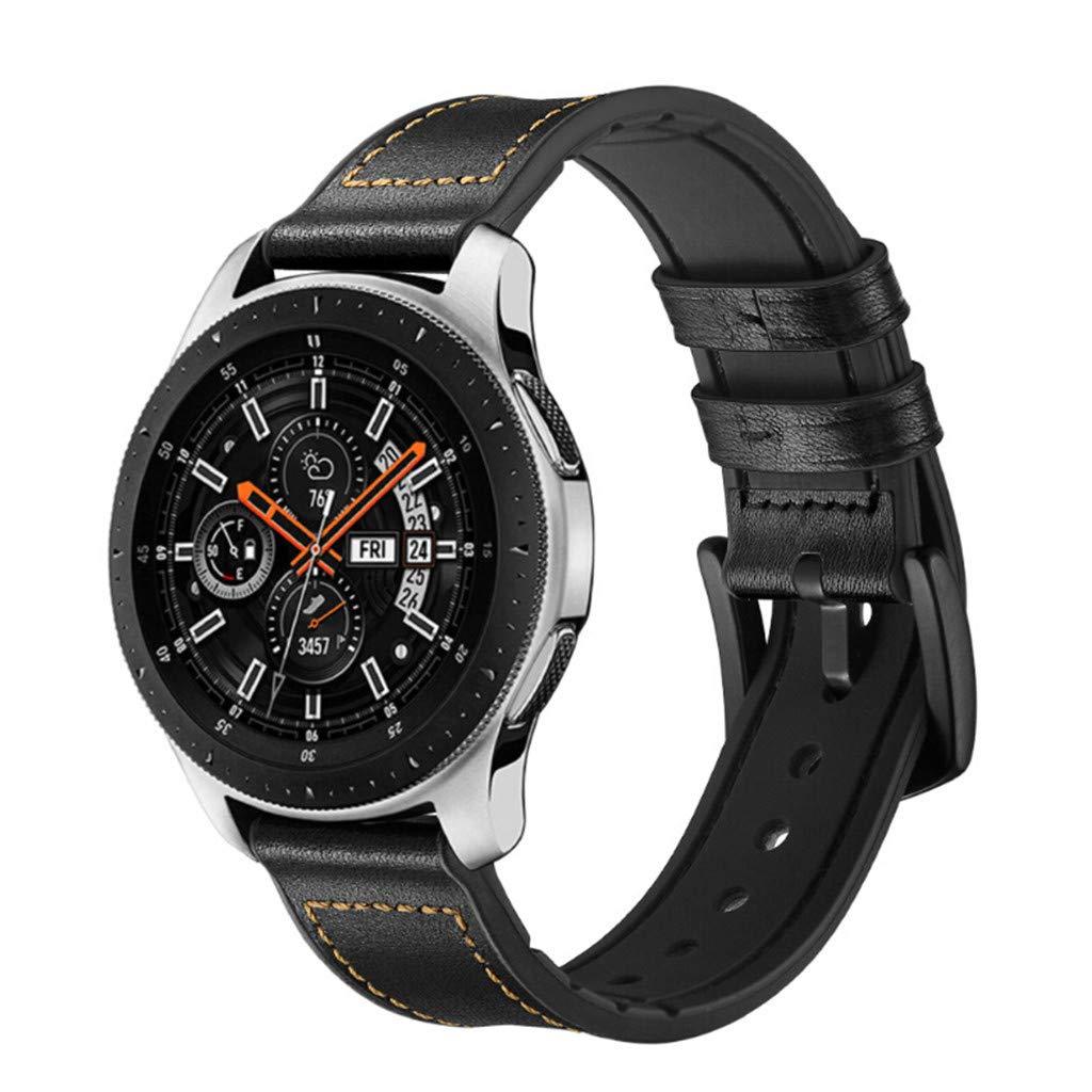 Amazon.com: Saying Retro Nylon + Leather Watch Bands for ...