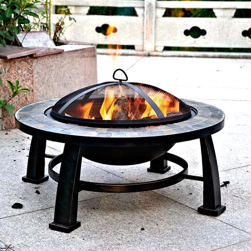 Cheap  Fire Pit Sale Today! This Wood Burning Fire Pit Can Replace Gas..