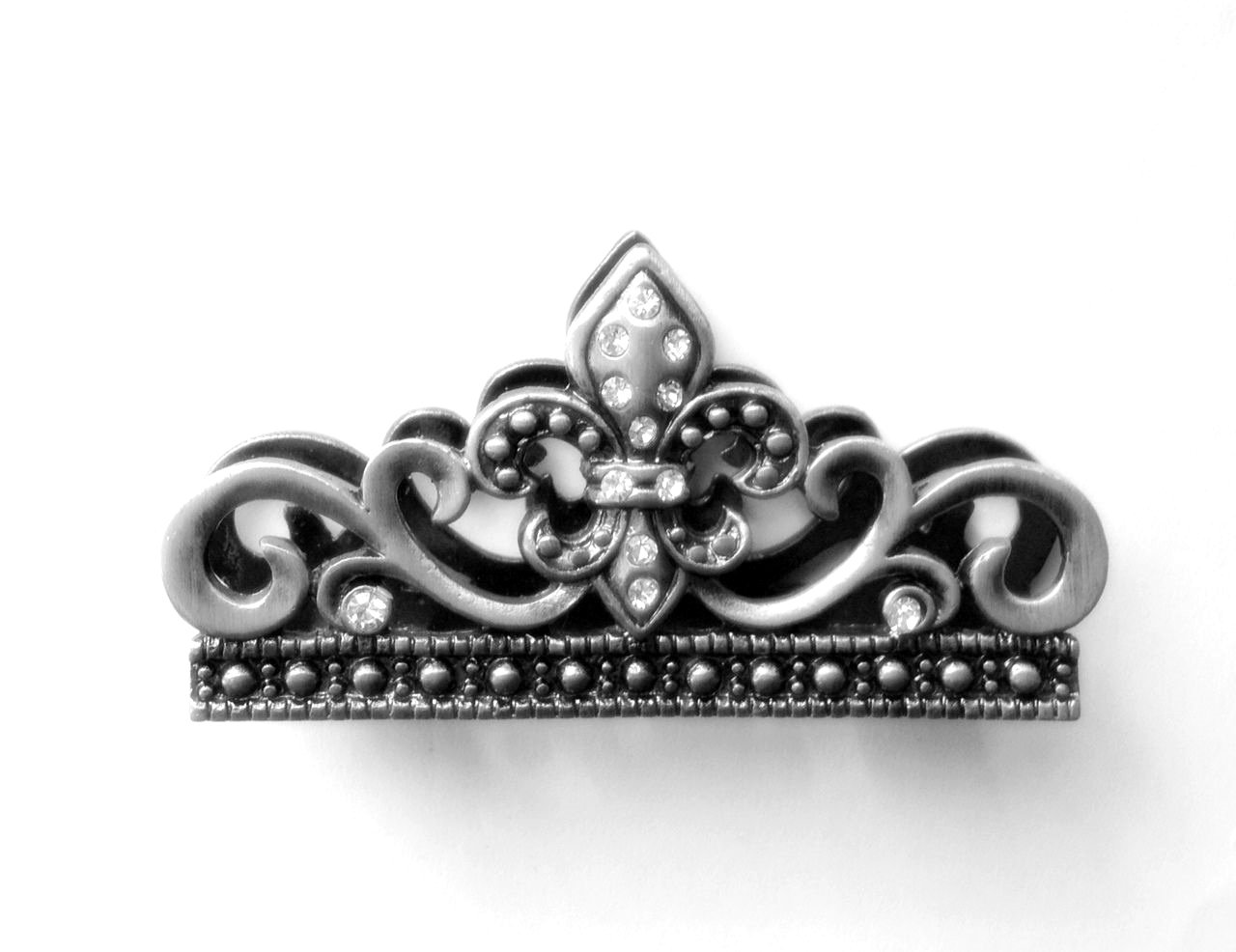 hot sale Business Card Holder (for a desk) - Fleur de lis Design ...