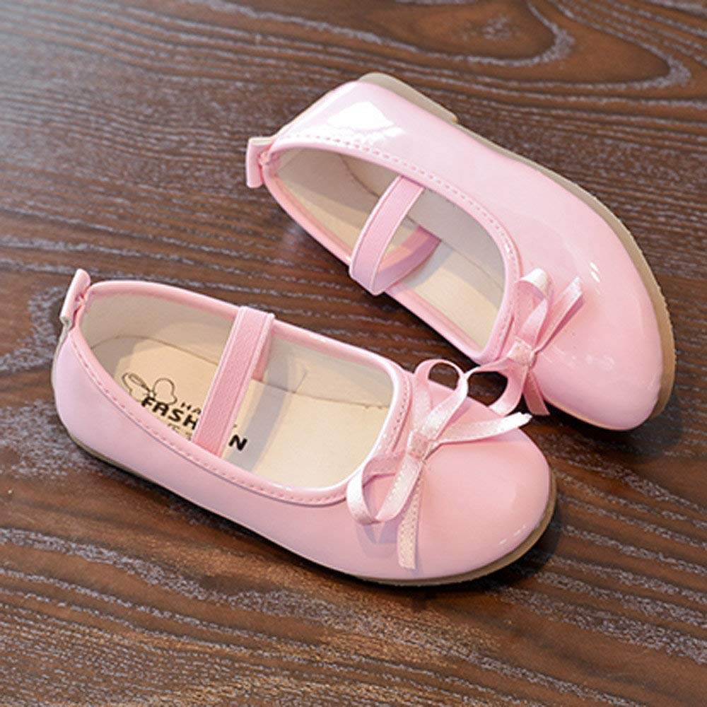 Baby Kid Sandals,Boomboom Fashion Baby Girls Bow Casual Leather Single Pricness Shoes