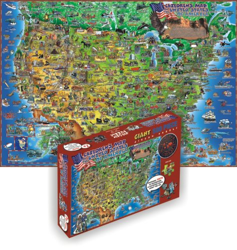 Dinos Illustrated Maps DP002 500 Piece product image