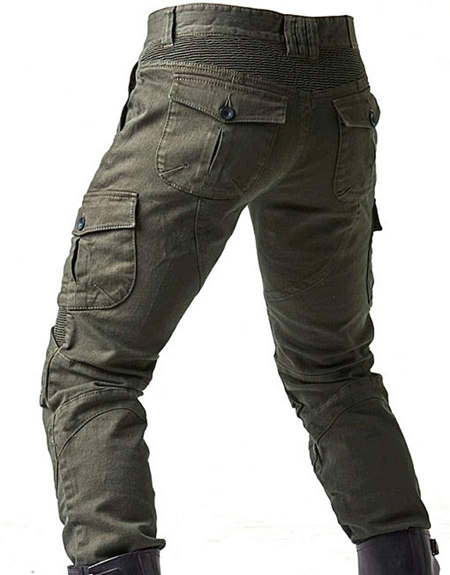 Motorradhose Herren Motorrad Reithose Denim Jeans mit Upgrade Protect Pads Ausrüstung Racing Knight Pants Camouflage Jeans 36