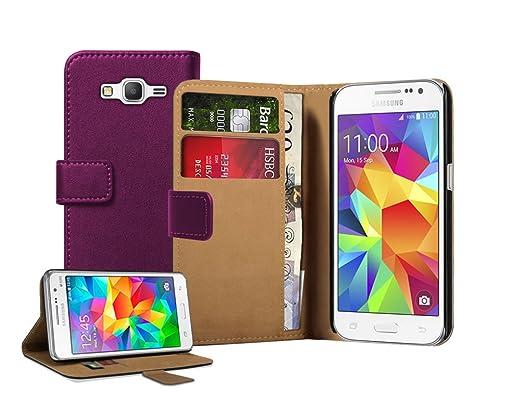51 opinioni per Membrane- Viola Portafoglio Custodia per Samsung Galaxy Core Prime (SM-G360F)-