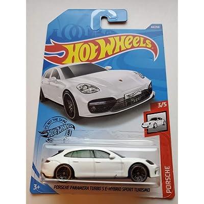 Hot Wheels 2020 Porsche Series Porsche Panamera Turbo S E-Hybrid Sport Turismo 44/250, White: Toys & Games