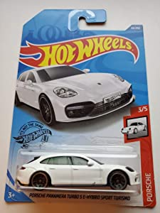 Hot Wheels 2020 Porsche Series Porsche Panamera Turbo S E-Hybrid Sport Turismo 44/250, White