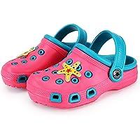 Zuecos Unisex Niños Lindo Sandalias de Playa y Piscina Infantil Niña Niño Antideslizante Zapatillas Verano Zapatos de…