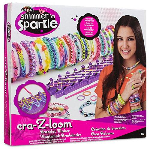 Cra Z Art Shimmer N Sparkle Cra Z Loom Bracelet Maker