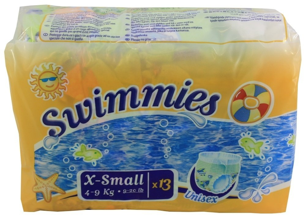 Swimmies Schwimmwindeln XS 4-9kg 13er Pack unisex ONTEX